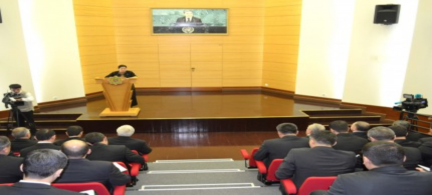 A briefing was held at the Ministry of Foreign Affairs of Turkmenistan on the results of an expanded government meeting