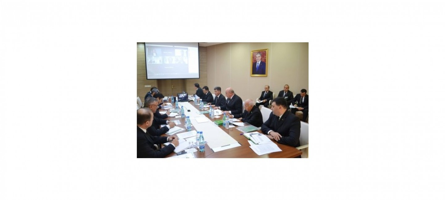 The first meeting was held on the working out the National Strategy of Turkmenistan on the development of renewable energy