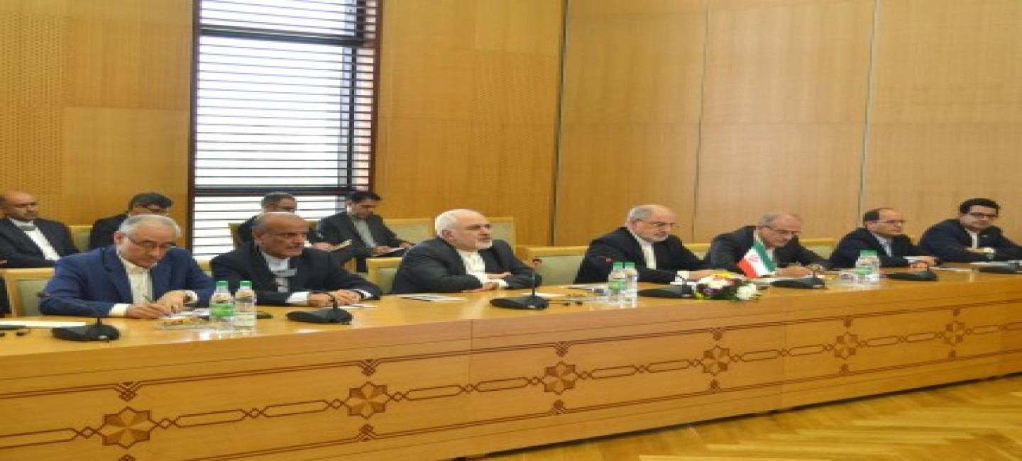 Meeting of the heads of external policy agencies of Turkmenistan and Iran in Ashgabat