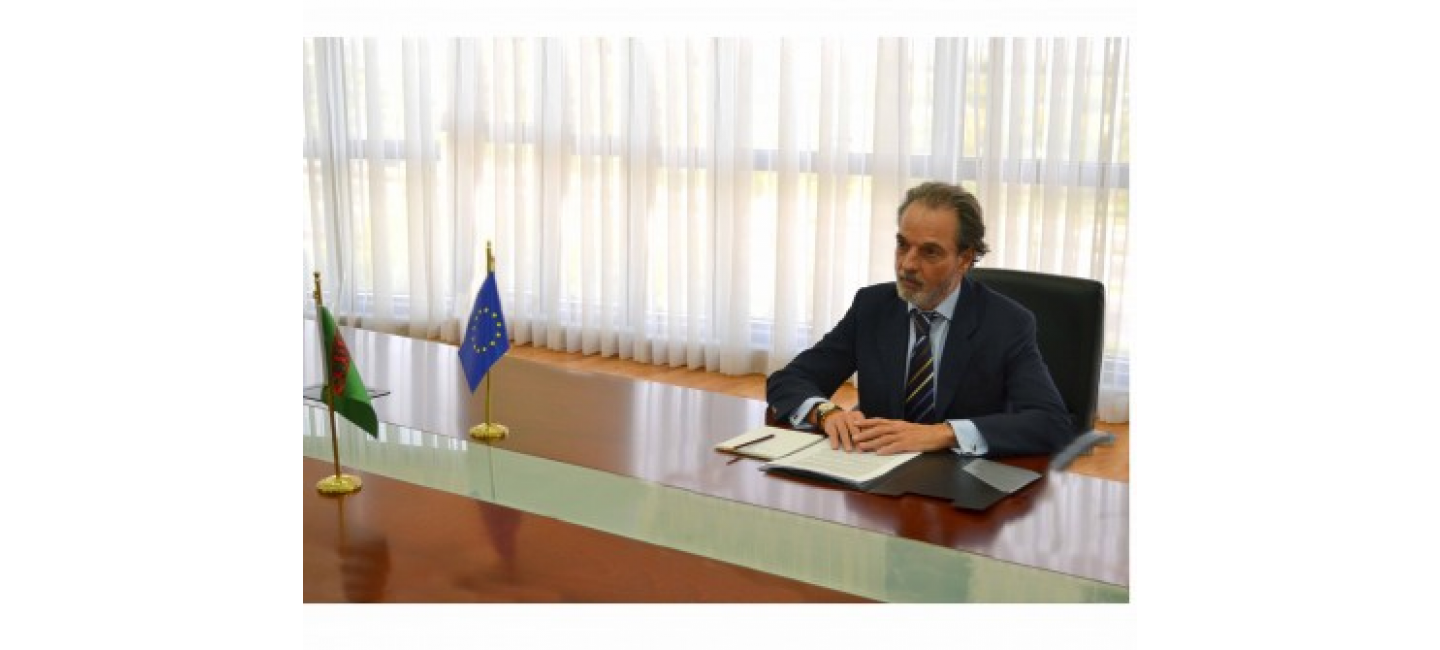 Issues of interaction between Turkmenistan and the EU discussed at the Ministry of Foreign Affairs of Turkmenistan
