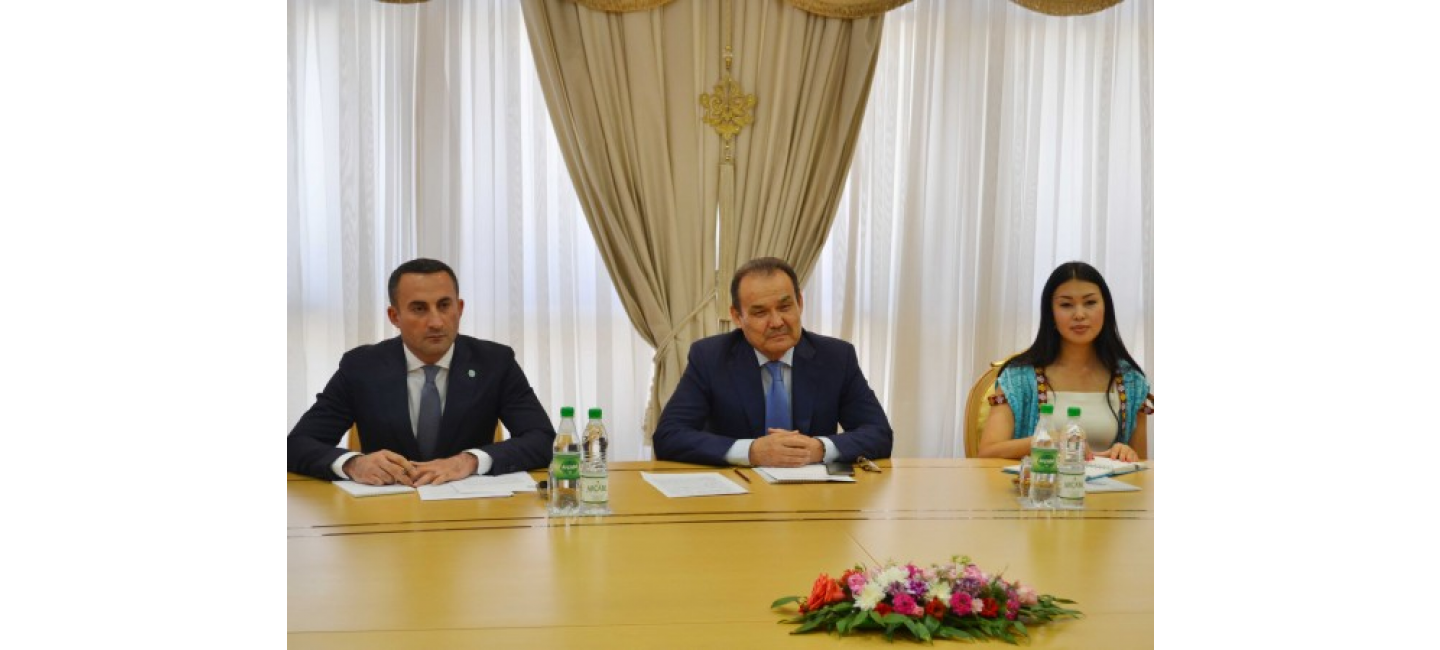 Meeting with the delegation of the Turkic Council in the MFA of Turkmenistan