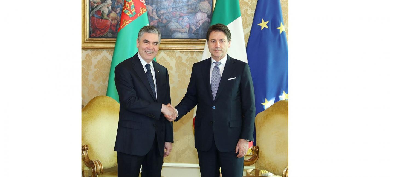 High level Turkmen-Italian talks were held in Rome